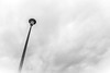 Higher (QuintonHurstPhotography) Tags: art artwork blackandwhite clouds cloudy fine fineart fineartphotography fog foggy higher light minimal minimalism photography pole simple sky stand street streetlight