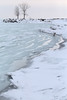 Two Tree Shore (peterkelly) Tags: digital canon 6d northamerica wheatley ontario canada lakeerie greatlakes winter ice tree shoreline shore snow beach