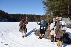 Aurinkoinen niemi (GARS Savolax) Tags: nuuksio histelvaellus historianelävöitys historianelävöittäminen gars 1600luku