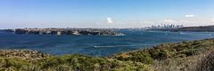 North Head Sydney Australia (Rob Virgona) Tags: boat city harbour water manly sydney northhead sydneyharbour