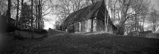 Abandoned sheepfold