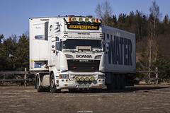 Scania R520 V8 Streamline Topline- Przestrzelski (PL) (Michał Szczerbowski) Tags: scania r520 v8 streamline przestrzelski topline naczepa chłodnia tuning spotkanie