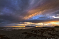 Mournes at Sunset (dareangel_2000) Tags: dariacasement northernireland landscape tyrella tyrellabeach beach codown coastal water sea sunset dusk twilight beachphotography newcastle minerstown rosslagh shore seaside