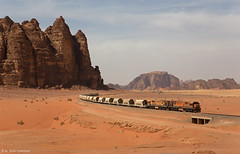 Aqaba Railway Corporation 309 + 315 Ad-Disa (OliverHeckmann) Tags: jordan jordanien aqaba railway corporation arc phosphatzug phosphatetrain ge u20c addisa