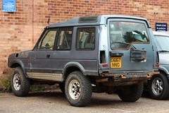 G662 NNG (Nivek.Old.Gold) Tags: 1990 land rover discovery tdi 3door 2495cc mannegerton holdeninternational norwich