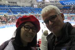 IMG_1382 (Mud Boy) Tags: southkorea korea republicofkorea officiallyknownasthexxiiiolympicwintergameskorean제23회동계올림픽 olympics olympicgames pyeongchang2018 winter winterolympicstripwithjoyce the2018winterolympics xxiiiolympicwintergames wasaninternationalwintermultisporteventheldbetween9and25february2018inpyeongchangcounty womensicehockeyfinalusawingoldaftershootoutovercanada kwandonghockeycentre joyce joyceshu clay clayhensley clayturnerhensley