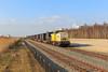CT 203 103 + Laude.pl containertrein (Durk Houtsma.) Tags: staal br203 laudepl staaltrein moerdijk staalrollen wuppermann coils 203103 wsn mdk captrain ct v100 zevenbergen noordbrabant nederland nl