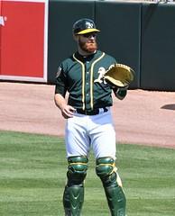 Jonathan Lucroy catcher (jkstrapme 2) Tags: baseball catcher cup jock bulge