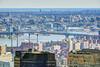 NYC - Views from Top of the Rock/30 Rock - Williamsburg Bridge (David Pirmann) Tags: skyline skyscraper 30rock topoftherock nyc newyorkcity bridge williamsburgbridge eastriver river brooklyn