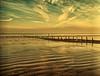 RHYTHMS (nerd.bird) Tags: beach sand sky clouds groynes patterns weston sea ocean severn estuary