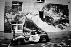 The down-under Creation of Adam. Auckland. New Zealand (Roberto Bendini) Tags: wellington auckland new zealand hobbit frodo sea landscape michelangelo creatio adam fresco mural sistine chapel copy