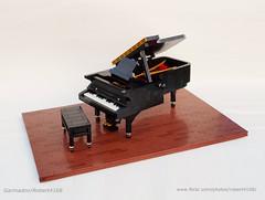 Grand Piano (Robert4168/Garmadon) Tags: lego grand piano