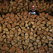 Wood pile ready