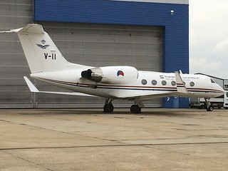 V-11 Gulfstream GIV LTN 01Apr2018
