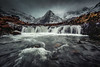 M O O D - P O O L S (elganjones1) Tags: fairy pools skye scotland moody waterfall mountain