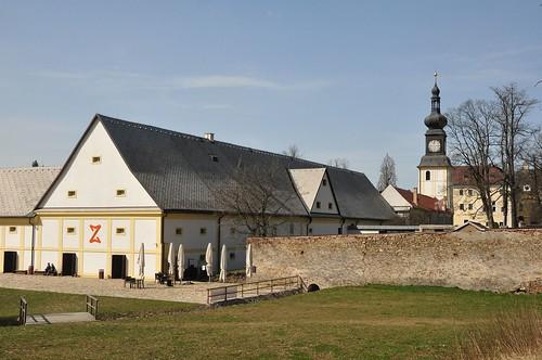 Kloster bzw Schloss Zďár nad Sázavou