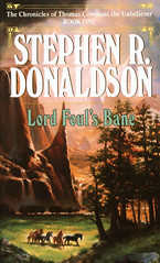 Lord-Foul's-Bane-by-Stephen-R-Donaldson (Count_Strad) Tags: novel book cover pages read mystery western fantasy