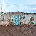 Decorated wall of a local house, Awdal region, Zeila, Somaliland