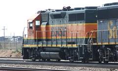 BNSF 2570 Winslow AZ 19 Jul 2008 (AA654) Tags: bnsf santa fe arizona rail railroad emd