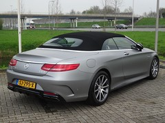 2018 Mercedes-AMG S 63 Cabriolet (harry_nl) Tags: netherlands nederland 2018 waardenburg mercedesamg s63 cabriolet sj295x sidecode9 thijstimmermans