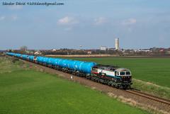 2018.04.08 | 659 001 | Zichyújfalu (Davee91) Tags: floyd british loco locomotive class56 tankertrain güterzug tehervonat tartályvonat veszélyes áró zichyújfalu train railways