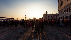 Sunset in Venice (Nicola Pezzoli) Tags: italia venezia venice carnevale canals canali italy travel sunset san marco canale canal water