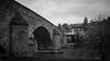Pont du Milieu, Fribourg (axel274) Tags: freiburg fribourg nikond3400 nikonpassion schweiz suisse switzerland noiretblanc blackandwhite lowlight pont bridge architecture