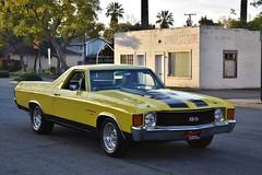 22nd Annual La Verne Cool Cruise (USautos98) Tags: 1971 chevrolet chevy elcamino hotrod streetrod custom