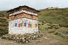 Chorten with prayer flags near the Lingshi dzong - Thimphu District - Snowman Trek - Bhutan (PascalBo) Tags: nikon d500 asie asia southasia asiedusud drukyul drukgyalkhap bhutan bhoutan འབྲུག་ཡུལ། འབྲུག་རྒྱལ་ཁབ་ snowman trek trekking hike hiking lunana thimphu himalaya himalayas jigmedorjinationalpark buddhism bouddhisme religion outdoor outdoors lingzhi lingshi pascalboegli