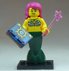 Brick Yourself Custom Lego Figure Magic Mermaid