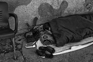 Sleeping Peshmerga