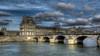 Pont Royal (Rollerphilc) Tags: canon architecture pont seine eau paris ciel nuage hdr 16x9