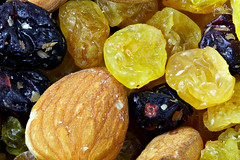 Macro Dried Fruits (João Clérigo) Tags: macro food background fruit dry snack closeup healthy diet sweet mix nutrition mixed seed organic white fresh ingredient raisin pile health nut natural texture isolated almond energy cranberry green group vegetarian assortment heap wooden nutritious pure party yellow hazelnut brown orange delicious top cashew exotic tasty red raw