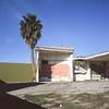 One palm dead gas station (ADMurr) Tags: dac507 la southla mf 6x6 fuji chrome slide film provia hasselblad 500 cm 50mm distagon palm