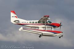 N628JN Cessna 208 Caravan (Dougie Edmond) Tags: prestwick scotland unitedkingdom gb float plane airplane aircraft airport egpk cannon sunshine spring