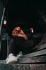 MRGRT-64 (qauqe) Tags: nike air force 1 af1 street urban jjstreet dance company hip hop hiphop house nikon d40 white locks portrait woman girl teenager tallinn estonia elevator stairway photography black bw graffiti stretshopone classics camo cityscape skyscraper