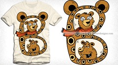 B is for Bear Cartoon Vector T-shirt Design (stockgraphicdesigns) Tags: abc abcbook africa african alphabet animals bear beast book caricature carnivore cartoon cartoonanimals character childhood childish children claw creature cute cuteanimals doll education educational english fauna forest funny fur grammar hunt hunter hunting jungle kids language learn learning letters little mammals panda pandabear paw pending polar predator preliminary preschool primary primer safari spelling tail teaching text toy vertebrate wild wildlife word write writing zoo