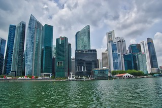 Central Business District (CBD) at Marina Bay in Singapore