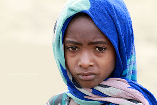 Ethiopienne à Gorgora