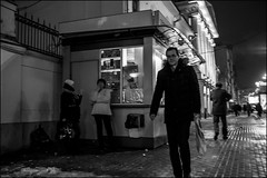 16drb0092 (dmitryzhkov) Tags: russia moscow documentary street life lowlight night human monochrome reportage social public urban city photojournalism streetphotography people bw nightphotography dmitryryzhkov blackandwhite everyday candid stranger