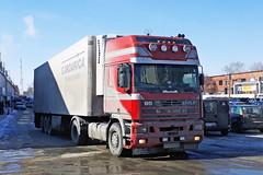DAF FT 95XF430  Е 188 КК 45 (RUS) (zauralec) Tags: город курган улица автомобиль грузовик daf ft 95xf430 е 188 кк 45 rus kurgan rioshoppingcenter рио