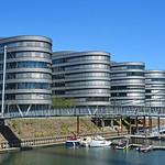 Duisburg - Innenhafen (12) - »Five Boats« thumbnail