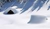 montagna inverno (valeriabuzzi) Tags: baita neve tarvisiano
