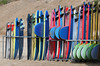 Surfboards at Polzeath (Star Watcher) Tags: surf board colors colours beach