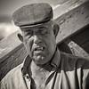 'Pescador' No. 4 (Canadapt) Tags: man fisherman boat sea ocean bw sepia portrait costadacaparica portugal canadapt