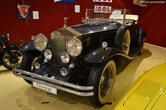 Rolls Royce Phantom II 1930 (Monde-Auto Passion Photos) Tags: voiture vehicule auto automobile rollsroyce rolls royce phantom cabriolet convertible roadster spider ancienne classique rare rareté luxe classe vente enchère osenat france fontainebleau