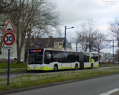 Mercedes Citaro GC2 n°454 (ChristopherSNCF56) Tags: brest bibus bus mercedes citaro gc2 454 transport urbains