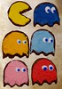 Gus's birthday cookies - Pacman and Ghosts (Niki Gunn) Tags: pentax k5 march 2018 tamron 90mm macro tamron90mmmacro tamronspaf90mmf28 tamron90mm tamron90mmf28 pacman ghost cookies pinky blinky inky clyde