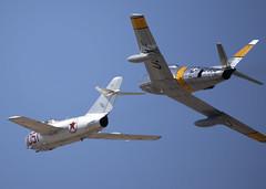F-86F_Mig15_KWJF_7251 (Mike Head - Jetwashphotos) Tags: mikoyan mig15bis northamerican f86fsabre wjf kwjf foxfield lancaster ca california us usa america