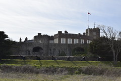 (senderismoenlondres) Tags: dover deal historic white cliffs swcwalks book2 walk30 england stmargarets bay castle zetland arms medievalcastle roman south foreland lighthouse goodwinsands beach walmercastle downs